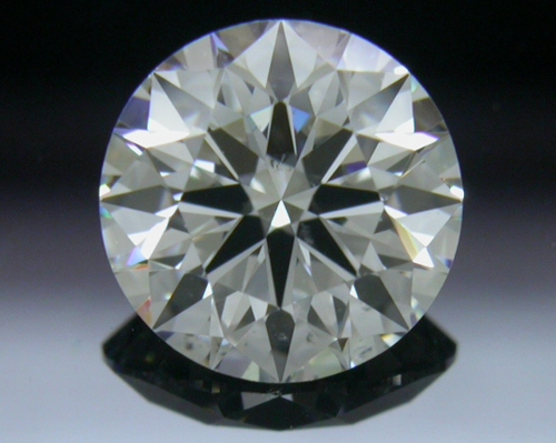 0.735 ct F SI1 A CUT ABOVE® Hearts and Arrows Super Ideal Round Cut Loose Diamond