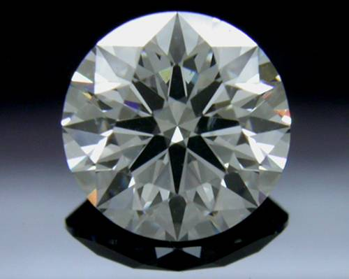 0.738 ct G SI1 A CUT ABOVE® Hearts and Arrows Super Ideal Round Cut Loose Diamond