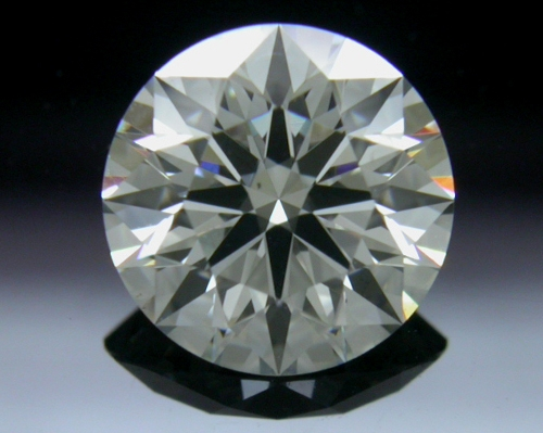 0.94 ct K SI1 A CUT ABOVE® Hearts and Arrows Super Ideal Round Cut Loose Diamond