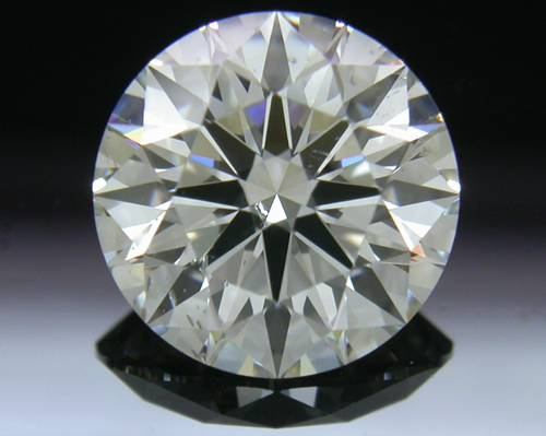 1.637 ct I SI2 A CUT ABOVE® Hearts and Arrows Super Ideal Round Cut Loose Diamond