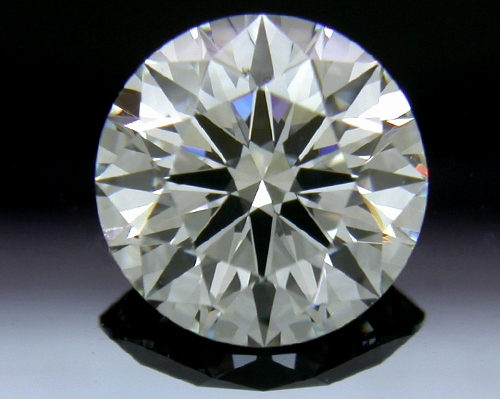1.204 ct G SI1 A CUT ABOVE® Hearts and Arrows Super Ideal Round Cut Loose Diamond