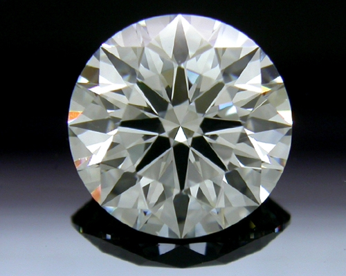 1.246 ct I SI1 A CUT ABOVE® Hearts and Arrows Super Ideal Round Cut Loose Diamond