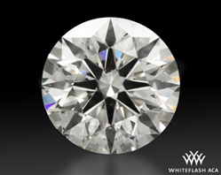 1.111 ct H SI2 A CUT ABOVE® Hearts and Arrows Super Ideal Round Cut Loose Diamond
