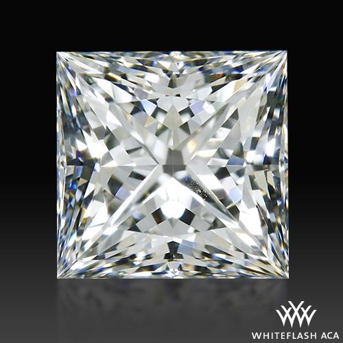 0.71 ct H VS1 A CUT ABOVE® Princess Super Ideal Cut Diamond