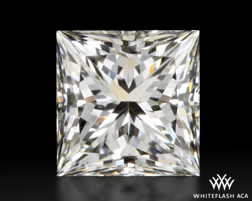 0.72 ct H VVS2 A CUT ABOVE® Princess Super Ideal Cut Diamond