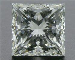 0.732 ct I SI1 A CUT ABOVE® Princess Super Ideal Cut Diamond