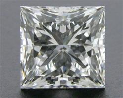 1.035 ct F SI1 A CUT ABOVE® Princess Super Ideal Cut Diamond