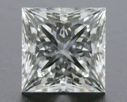 1.12 ct F SI1 A CUT ABOVE® Princess Super Ideal Cut Diamond