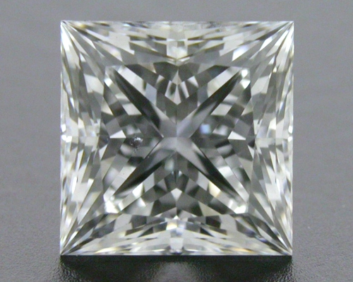 1.12 ct F SI1 A CUT ABOVE® Princess Super Ideal Cut Diamond