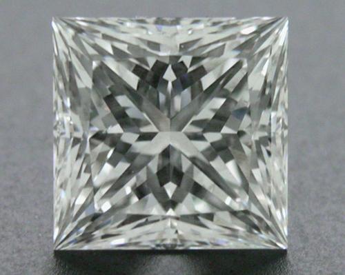 1.031 ct F SI1 A CUT ABOVE® Princess Super Ideal Cut Diamond