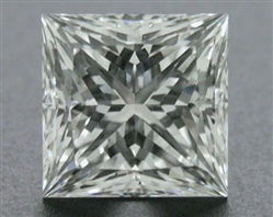 1.031 ct F SI1 A CUT ABOVE® Princess Super Ideal Cut Diamond