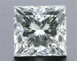 1.014 ct G VS1 A CUT ABOVE® Princess Super Ideal Cut Diamond