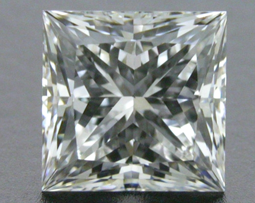 0.742 ct G VS2 A CUT ABOVE® Princess Super Ideal Cut Diamond