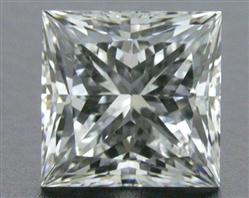 0.742 ct G VS2 A CUT ABOVE® Princess Super Ideal Cut Diamond