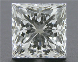 0.537 ct E VS1 A CUT ABOVE® Princess Super Ideal Cut Diamond