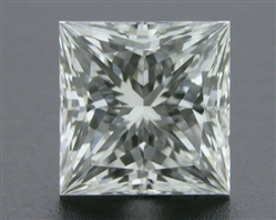 0.703 ct H VVS2 A CUT ABOVE® Princess Super Ideal Cut Diamond