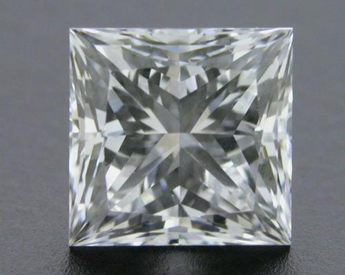 0.735 ct E VVS2 A CUT ABOVE® Princess Super Ideal Cut Diamond