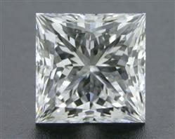 0.711 ct F VVS2 A CUT ABOVE® Princess Super Ideal Cut Diamond