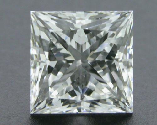 0.772 ct F VS2 A CUT ABOVE® Princess Super Ideal Cut Diamond
