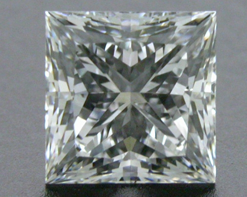 0.715 ct E VS2 A CUT ABOVE® Princess Super Ideal Cut Diamond