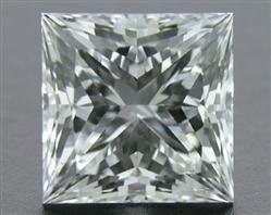 0.721 ct F VS2 A CUT ABOVE® Princess Super Ideal Cut Diamond