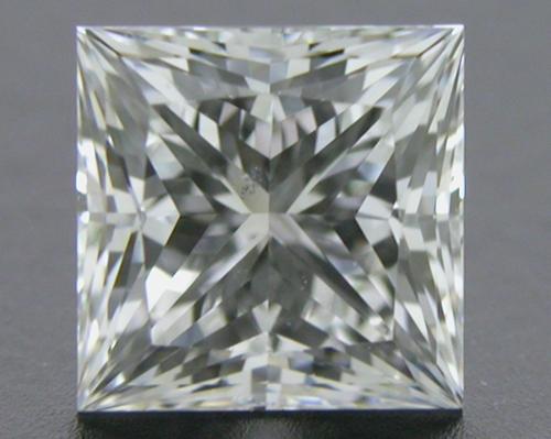 0.584 ct F SI1 A CUT ABOVE® Princess Super Ideal Cut Diamond