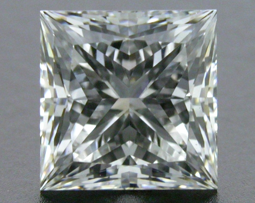 1.012 ct F VS2 A CUT ABOVE® Princess Super Ideal Cut Diamond