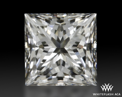 0.542 ct H VS2 A CUT ABOVE® Princess Super Ideal Cut Diamond