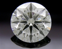 0.472 ct F SI1 A CUT ABOVE® Hearts and Arrows Super Ideal Round Cut Loose Diamond
