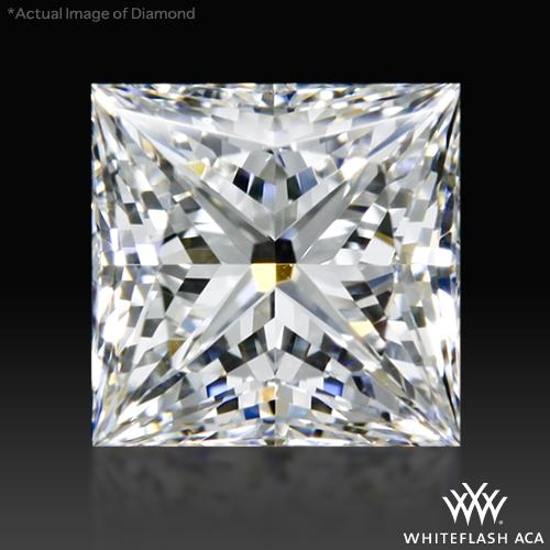 0.77 ct G VS1 A CUT ABOVE® Princess Super Ideal Cut Diamond