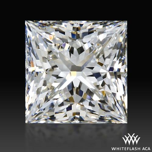 0.818 ct F VS1 A CUT ABOVE® Princess Super Ideal Cut Diamond