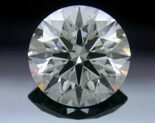0.73 ct F SI1 A CUT ABOVE® Hearts and Arrows Super Ideal Round Cut Loose Diamond