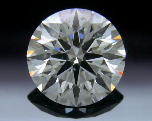 0.74 ct F SI2 A CUT ABOVE® Hearts and Arrows Super Ideal Round Cut Loose Diamond