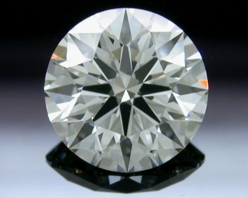 0.763 ct I VS1 A CUT ABOVE® Hearts and Arrows Super Ideal Round Cut Loose Diamond