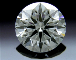 0.406 ct F VS2 A CUT ABOVE® Hearts and Arrows Super Ideal Round Cut Loose Diamond