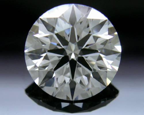 1.103 ct E VVS2 A CUT ABOVE® Hearts and Arrows Super Ideal Round Cut Loose Diamond
