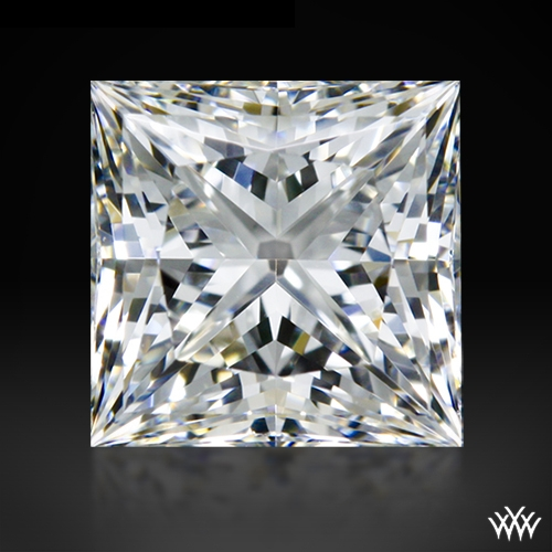 0.705 ct G VS2 A CUT ABOVE® Princess Super Ideal Cut Diamond