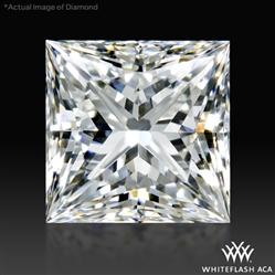 0.73 ct H VS2 A CUT ABOVE® Princess Super Ideal Cut Diamond