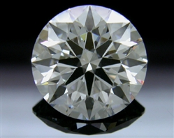 1.588 ct F SI1 A CUT ABOVE® Hearts and Arrows Super Ideal Round Cut Loose Diamond