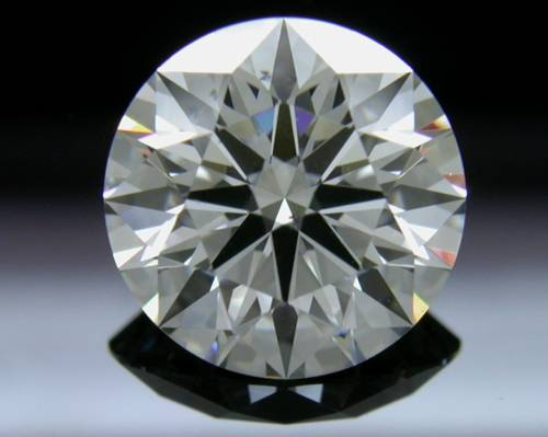 1.548 ct G SI1 A CUT ABOVE® Hearts and Arrows Super Ideal Round Cut Loose Diamond
