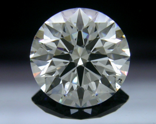 1.552 ct F SI1 A CUT ABOVE® Hearts and Arrows Super Ideal Round Cut Loose Diamond