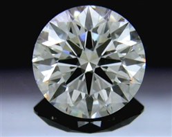 0.876 ct G VS2 A CUT ABOVE® Hearts and Arrows Super Ideal Round Cut Loose Diamond