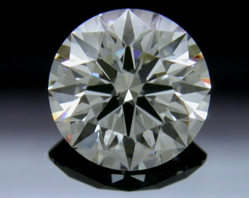0.753 ct H SI1 A CUT ABOVE® Hearts and Arrows Super Ideal Round Cut Loose Diamond