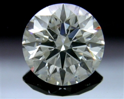 0.844 ct H SI1 A CUT ABOVE® Hearts and Arrows Super Ideal Round Cut Loose Diamond