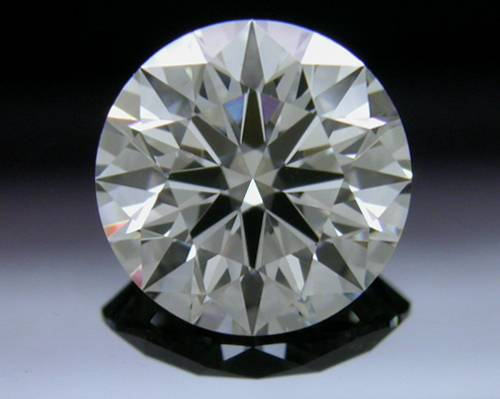 0.843 ct G VS2 A CUT ABOVE® Hearts and Arrows Super Ideal Round Cut Loose Diamond