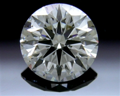 0.803 ct G SI1 A CUT ABOVE® Hearts and Arrows Super Ideal Round Cut Loose Diamond