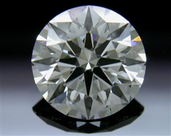 0.751 ct G SI1 A CUT ABOVE® Hearts and Arrows Super Ideal Round Cut Loose Diamond