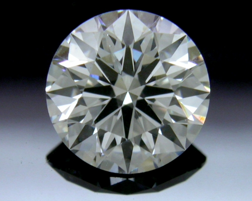 0.764 ct G SI1 A CUT ABOVE® Hearts and Arrows Super Ideal Round Cut Loose Diamond