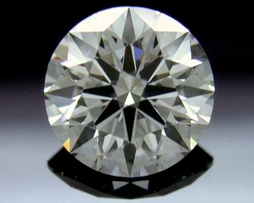 0.836 ct F SI1 A CUT ABOVE® Hearts and Arrows Super Ideal Round Cut Loose Diamond