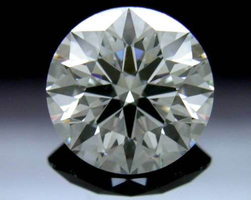 0.806 ct G SI1 A CUT ABOVE® Hearts and Arrows Super Ideal Round Cut Loose Diamond